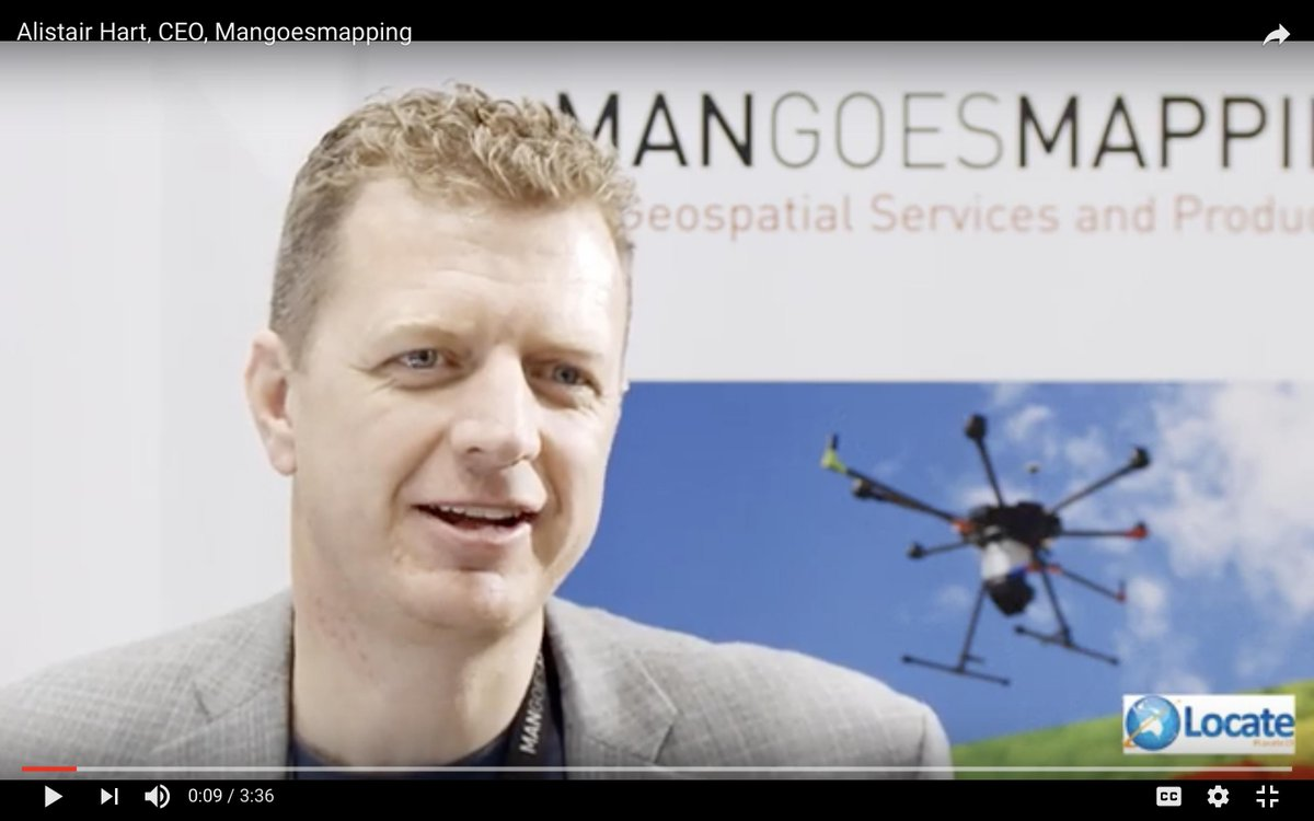 Alistair Hart, CEO, @mangoesmapping giving a great insight into all that happens during the #Locate Conferences. Watch below and be sure to keep an eye out for #Locate20 details coming soon! #geospatial #conference #australia https://www.youtube.com/watch?v=nQkwCVQVKWA…
