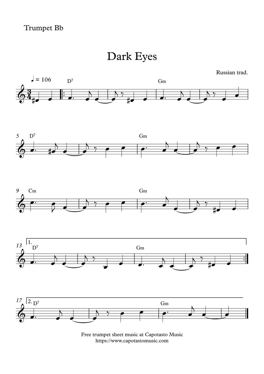 photo regarding Free Printable Sheet Music for Trumpet identified as Totally free Sheet Tunes Peter Edvinsson (@EdvinssonPeter) Twitter