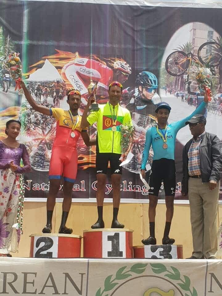 🇪🇷 - Eritrean ITT Championships We have a winner!! 🏆 @AmanuelGerezgh1 is the new Eritrean Time Trial Champion!!! 🖐🏼 #BicyclesChangeLives