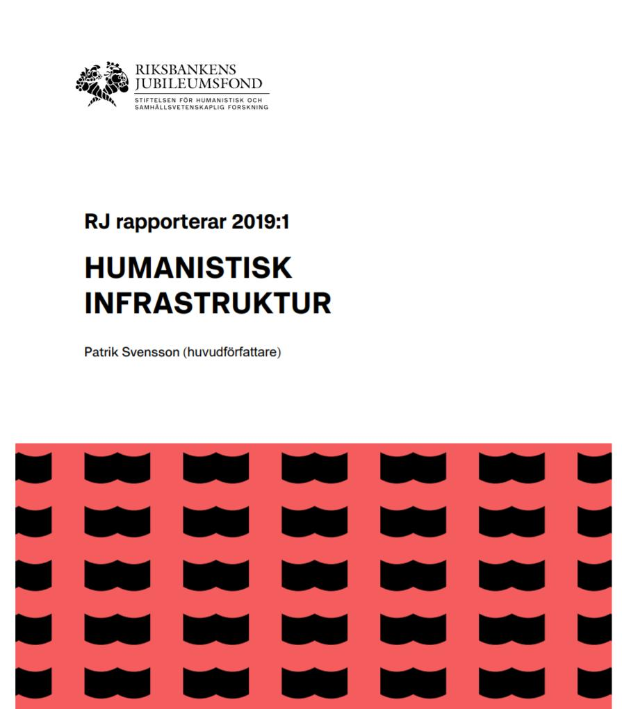 Report on Humanities Infrastructure (June 2019)