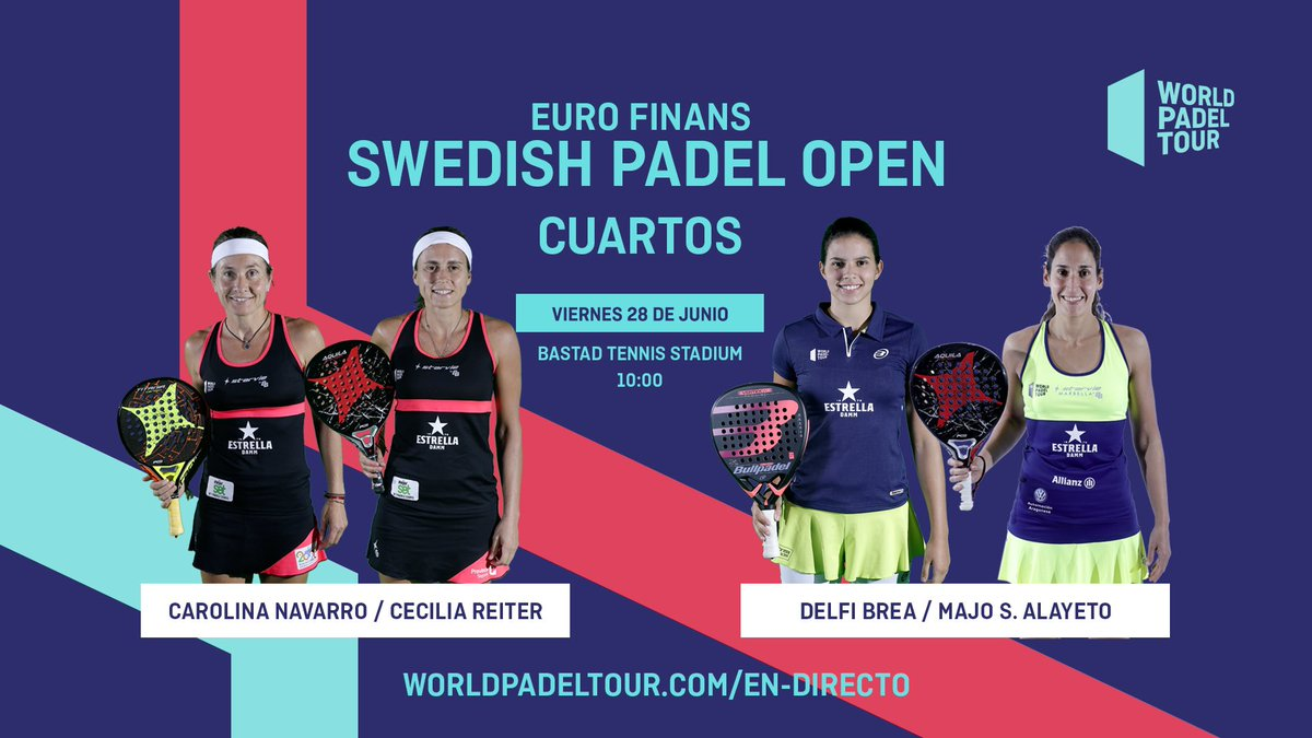 World Padel Tour On Twitter Go Go Go Qf Wptswedishopen 10 00 5 00 Bastad Tennis Stadium Https T Co 533fegipz2
