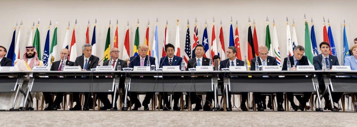 #G20OsakaSummit session on the global digital economy. #G20