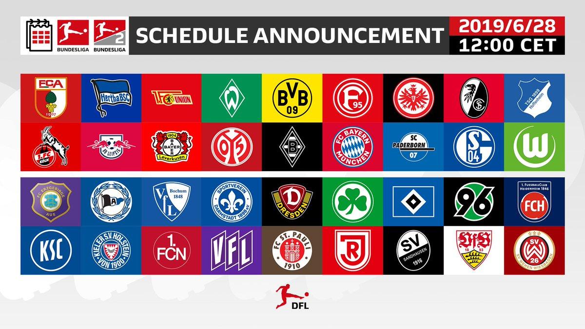 Bundesliga English On Twitter Full 2019 20 Bundesliga