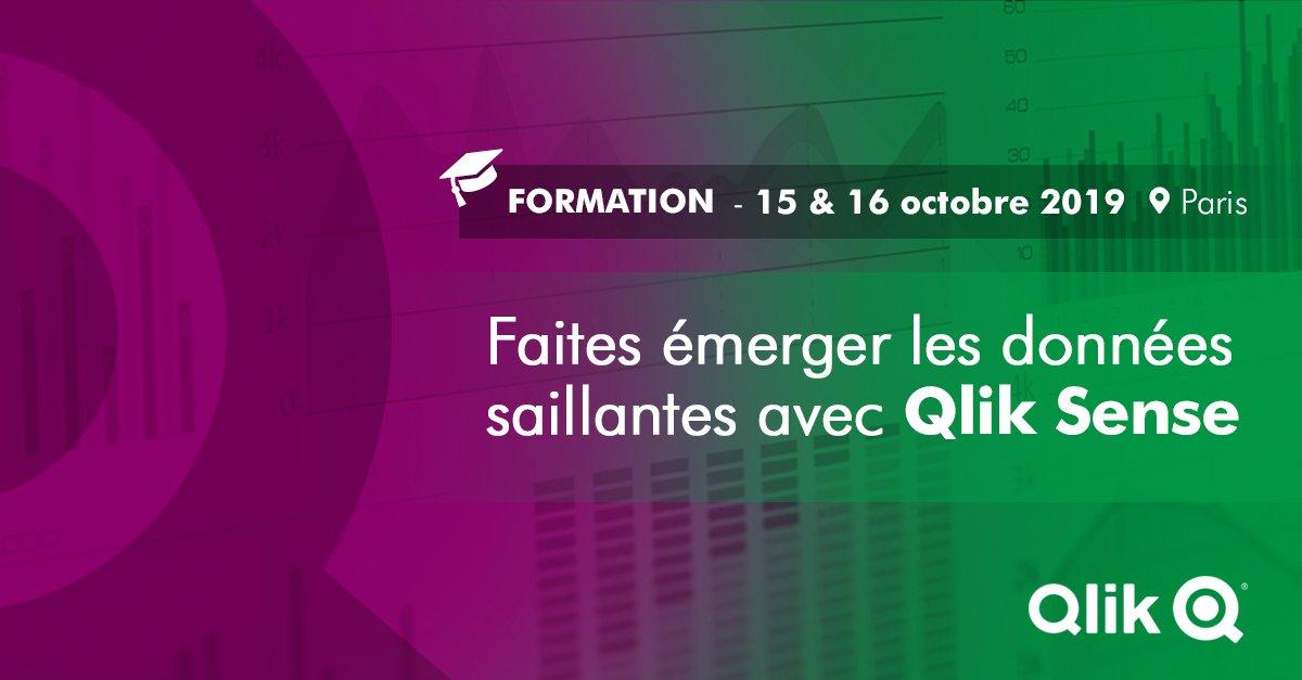 [Formation] Qlik : Faites émerger vos données saillantes grâce à Qlik Sense Designer ! Participez à cette nouvelle formation les 15 et 16 octobre prochains en réservant votre place => https://t.co/KfHlfZ3nOq #Formation #Qlik #Datavisualisation https://t.co/Xo8tHAdMBI