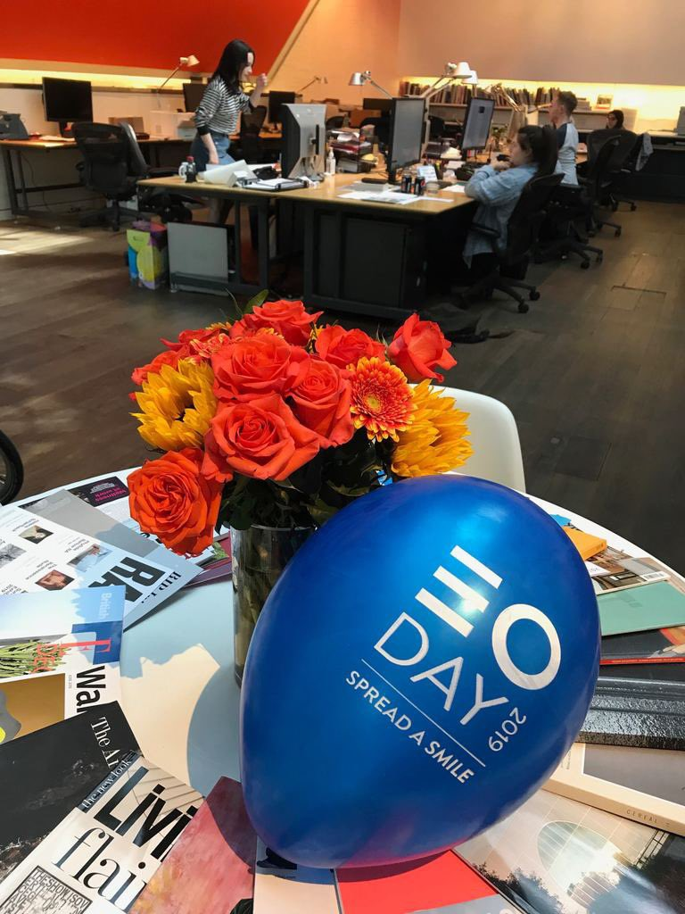 Happy #EOday! We are looking forward to celebrating with games, food and talking about wellness in the studio! @EmployeeOwned #employeeowned