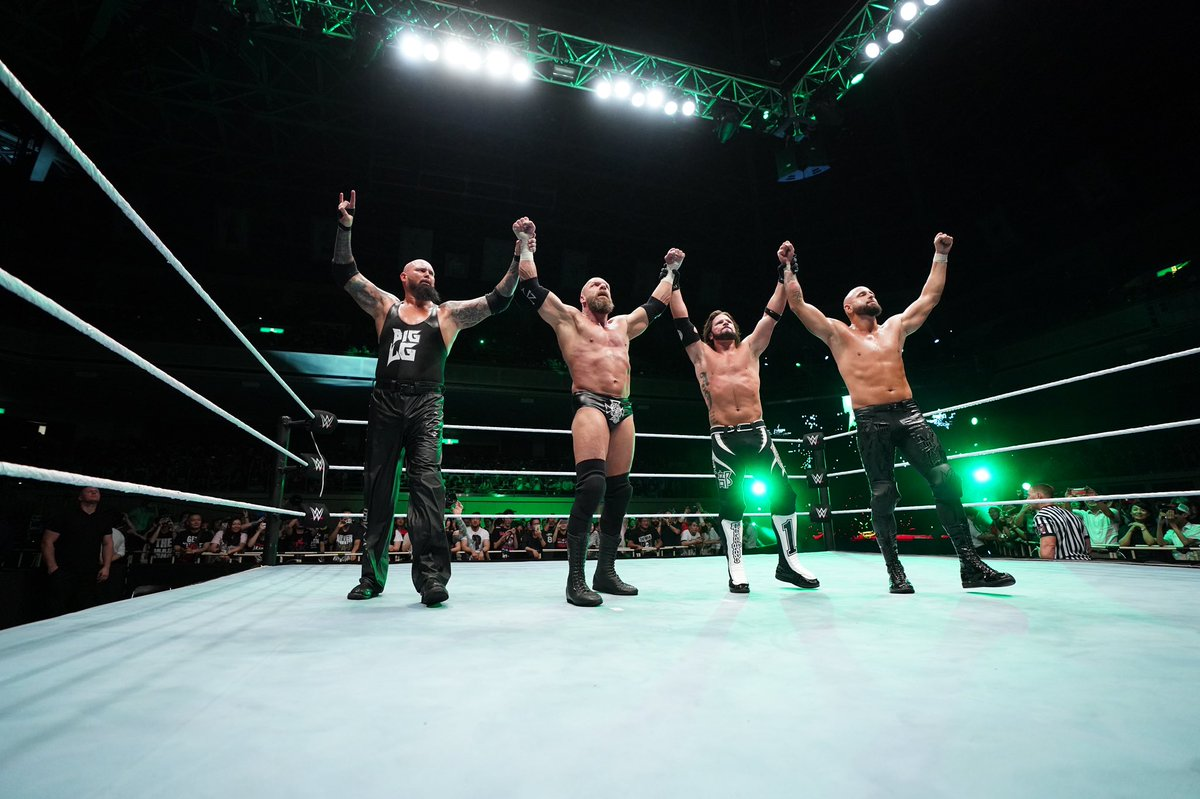 WWE Live Event Results From Tokyo (6/28): Triple H Teams With The Club, Hall Of Famer Honored, More