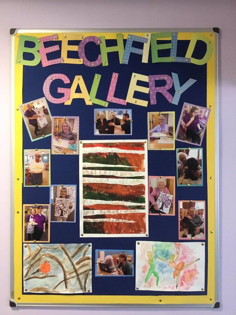 Beechfield Lodge Twitter post