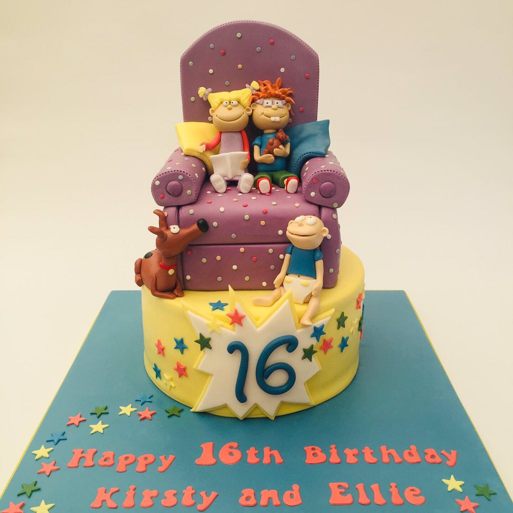 Wondrous The Flourcloud On Twitter Kirsty And Ellie Are Big Rugrats Fans Funny Birthday Cards Online Necthendildamsfinfo