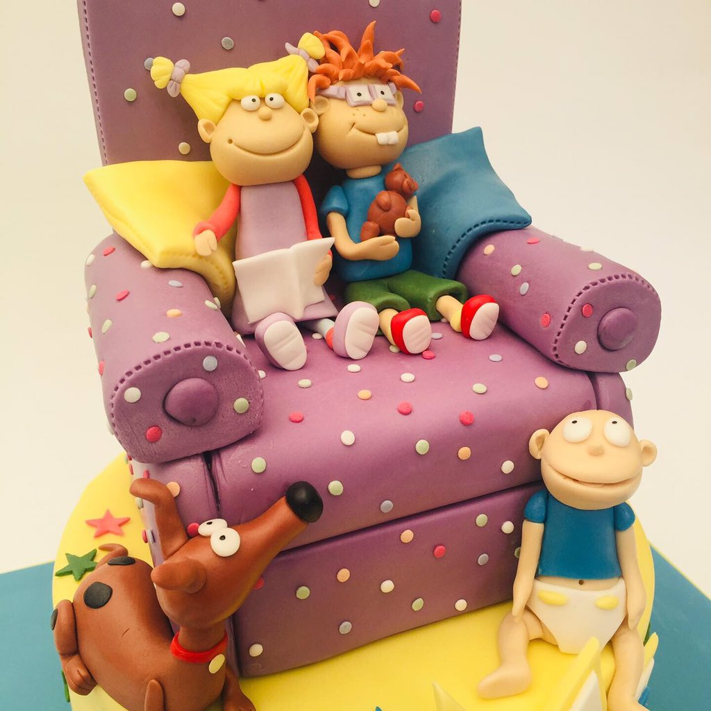 Peachy The Flourcloud On Twitter Kirsty And Ellie Are Big Rugrats Fans Funny Birthday Cards Online Necthendildamsfinfo