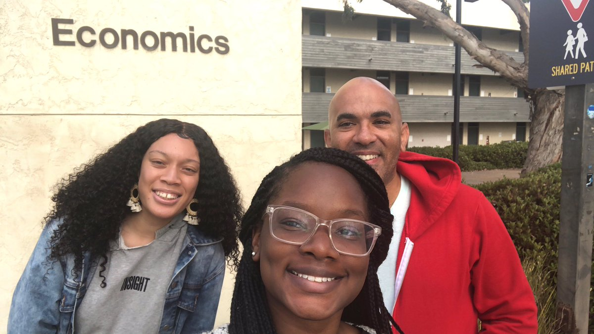 This #SpelmanSummer, Jala Abner and Kerlisha Hippolyte - @SpelmanCollege Econ students and VLab RAs - are working with Dr. Prashant Bharadwaj in the @UCSDnews STARS program.  Two other @Spelmanites participated last year, https://twitter.com/aviceisza/status/1011737366740922368?s=21….  @SpelmanPres @enjoyceinglife