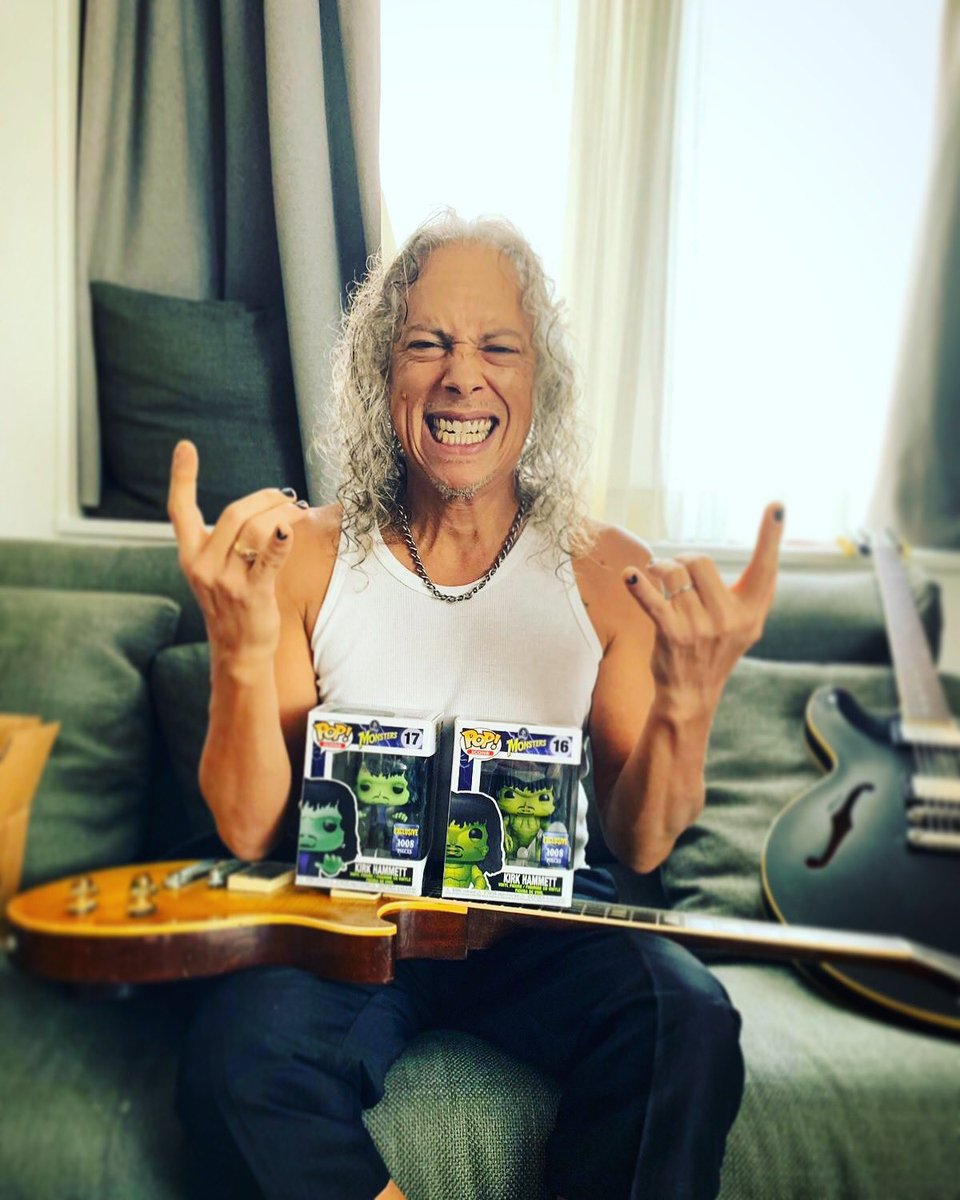 "Kirk Hammett on Twitter: ""I love these ! Thanks @OriginalFunko ⚡️🤘… """