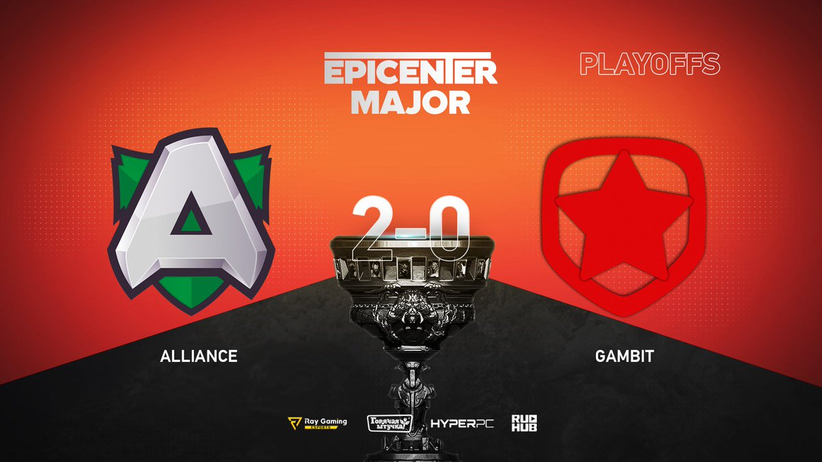 Alliance vs Gambit Esports EPICENTER Major 2019