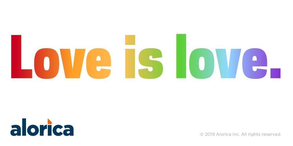 Happy #PrideDay to all our Alorica employees, friends, family, and everyone in between! Everyone is welcome here. #LoveIsLove https://t.co/ReVWrAct4I