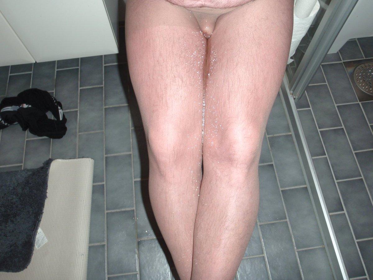 Pantyhose peeing, love it.