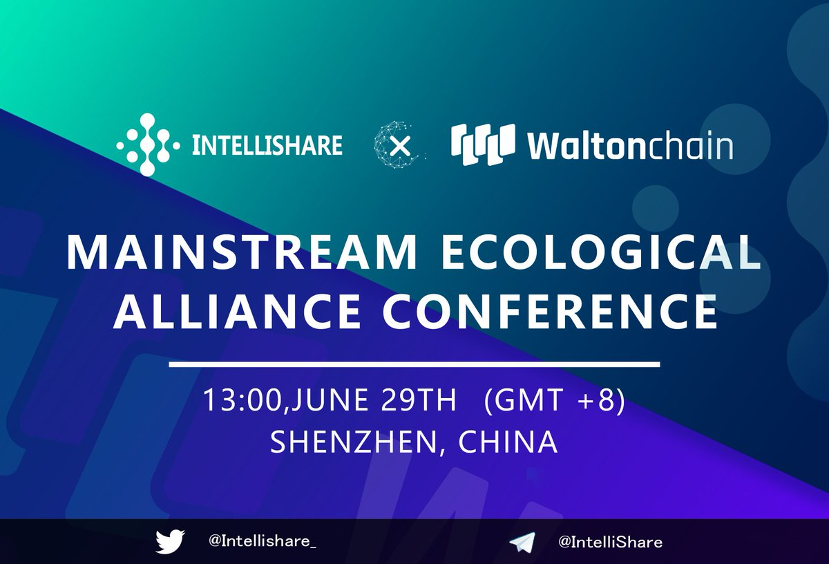 Don't forget that we will held a conference with Waltonchain @Waltonchain in Shenzhen China TOMORROW! We are here waiting for you🚀 #blockchain