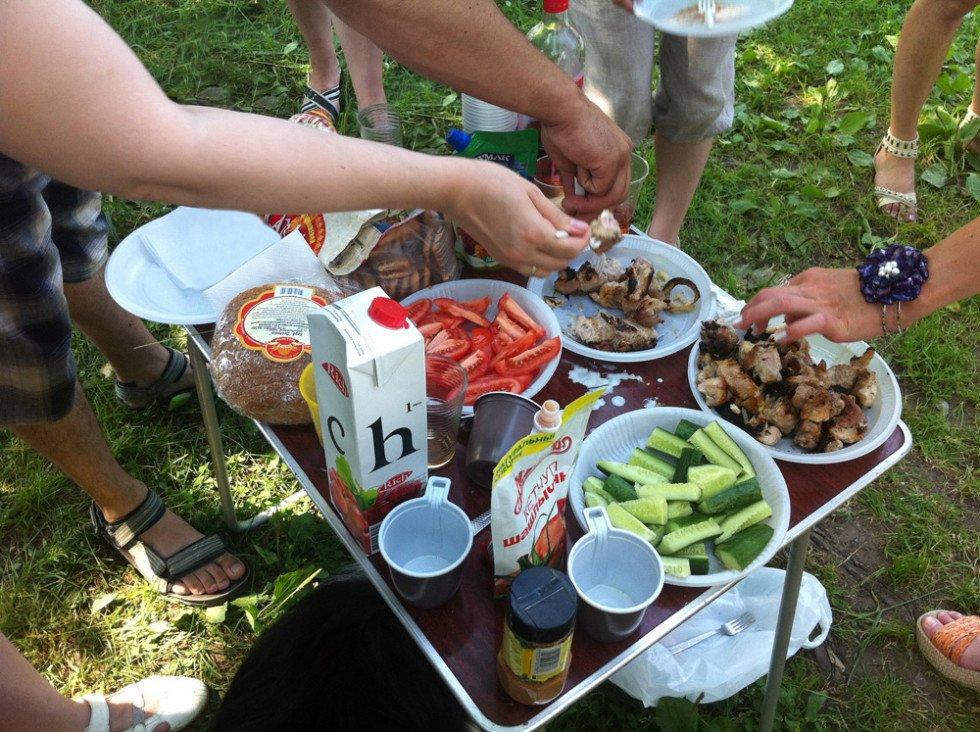 пикник на природе фото с шашлыком приглашение самаркандцев