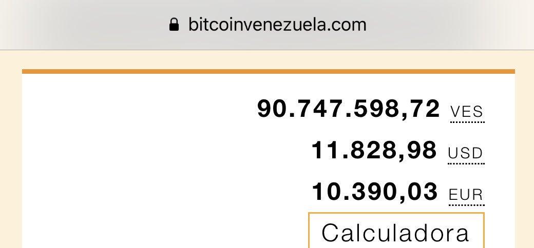 calculadora de btc dolár