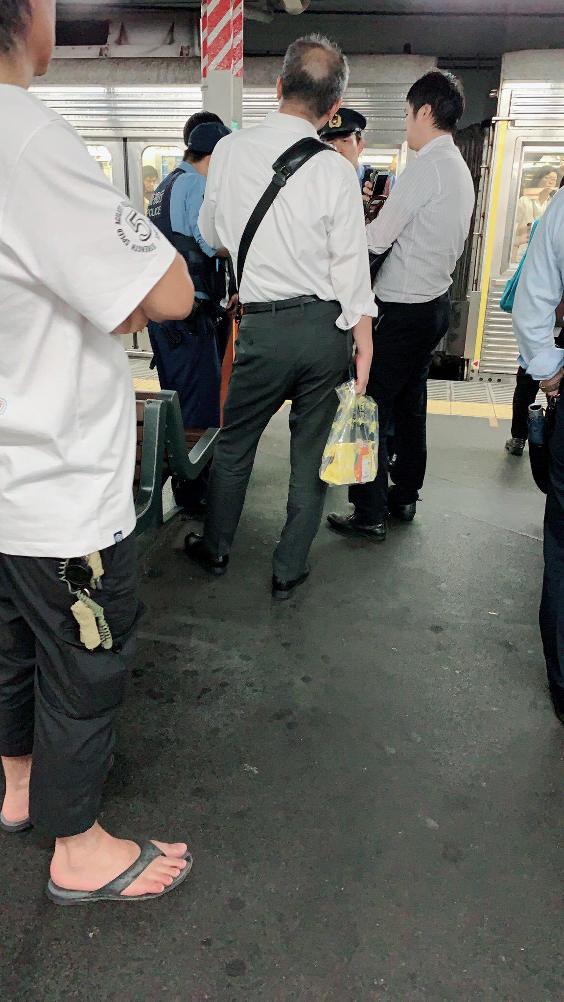 東武スカイツリーラインの西新井駅で人身事故が起きた現場の画像