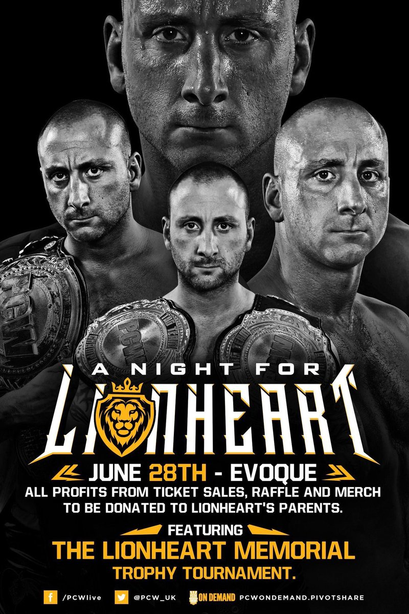 Good luck to all tonight @PCW_UK. I hope everyone in attendance remembers Adrian fondly.