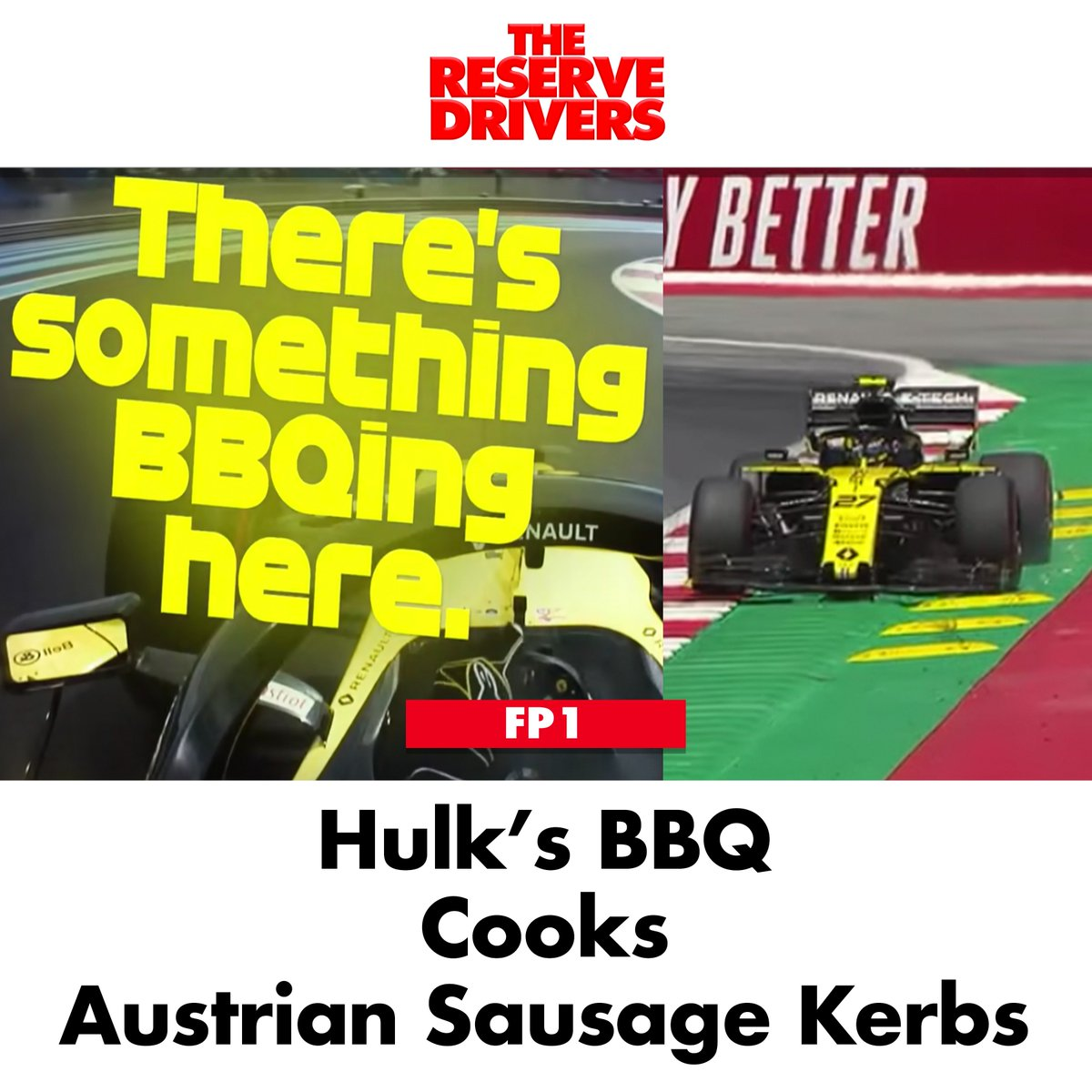 """""""I got onto the gas too early,"""" conceded the German. #F1 #AustrianGP"""