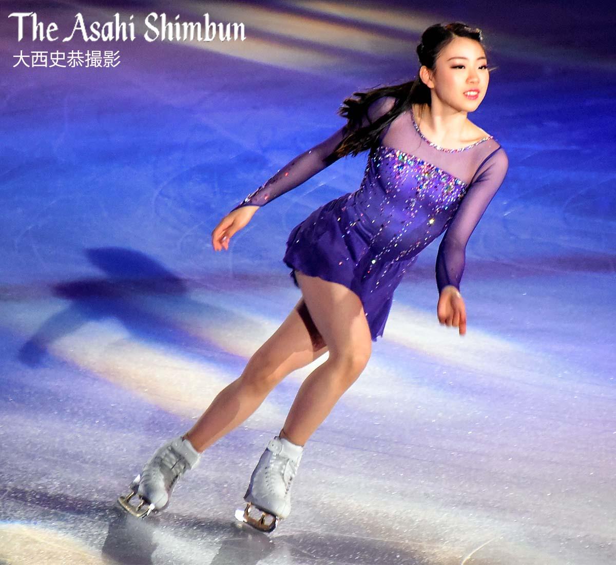 http//t.asahi.com/w2oy フィギュアスケート のアイスショー