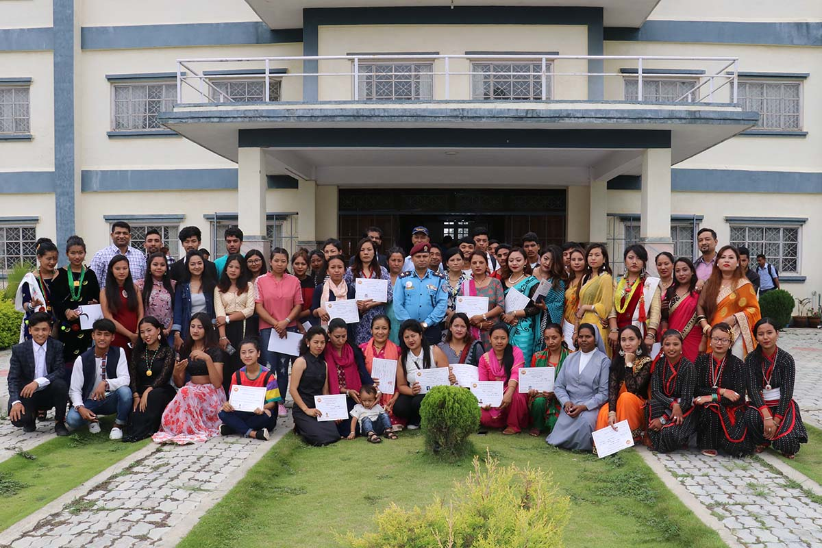 Nepal - 104 students awarded diploma https://t.co/KQgHUSmtAe https://t.co/1yxGwjW4tW