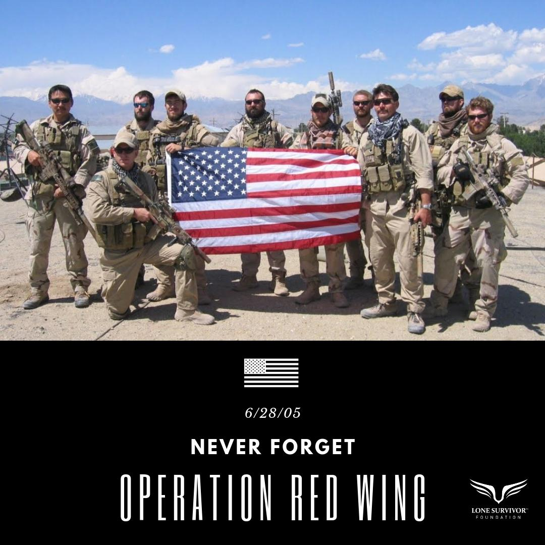 """""""It was my greatest honor to serve with these men on and off the battlefield.  They died doing what they loved, protecting this great country of ours, and in my eyes there is no greater sacrifice than that.""""  Marcus Luttrell"""
