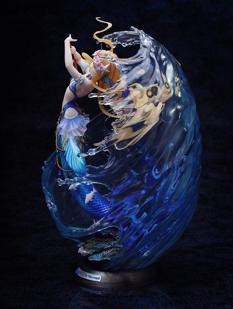 藤ちょこ 個展10月31日 画集発売中 人魚姫のイラストをmyethosさんにてフィギュア化していただきました 透明感がすごい T Co N5iugnu4yh