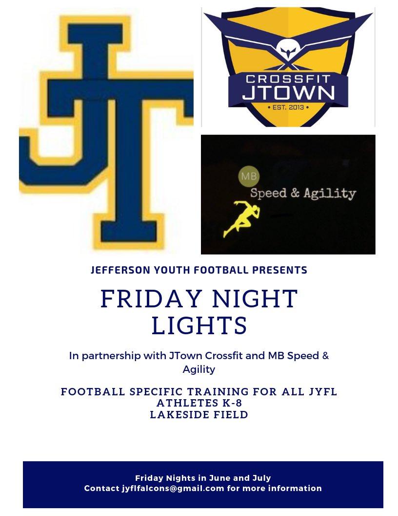 Jefferson Youth Football League (@jyflfalcons) | Twitter