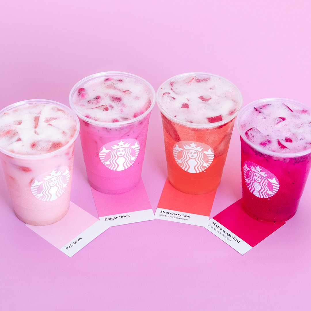 Starbucks Coffee On Twitter Refreshment Comes In Every
