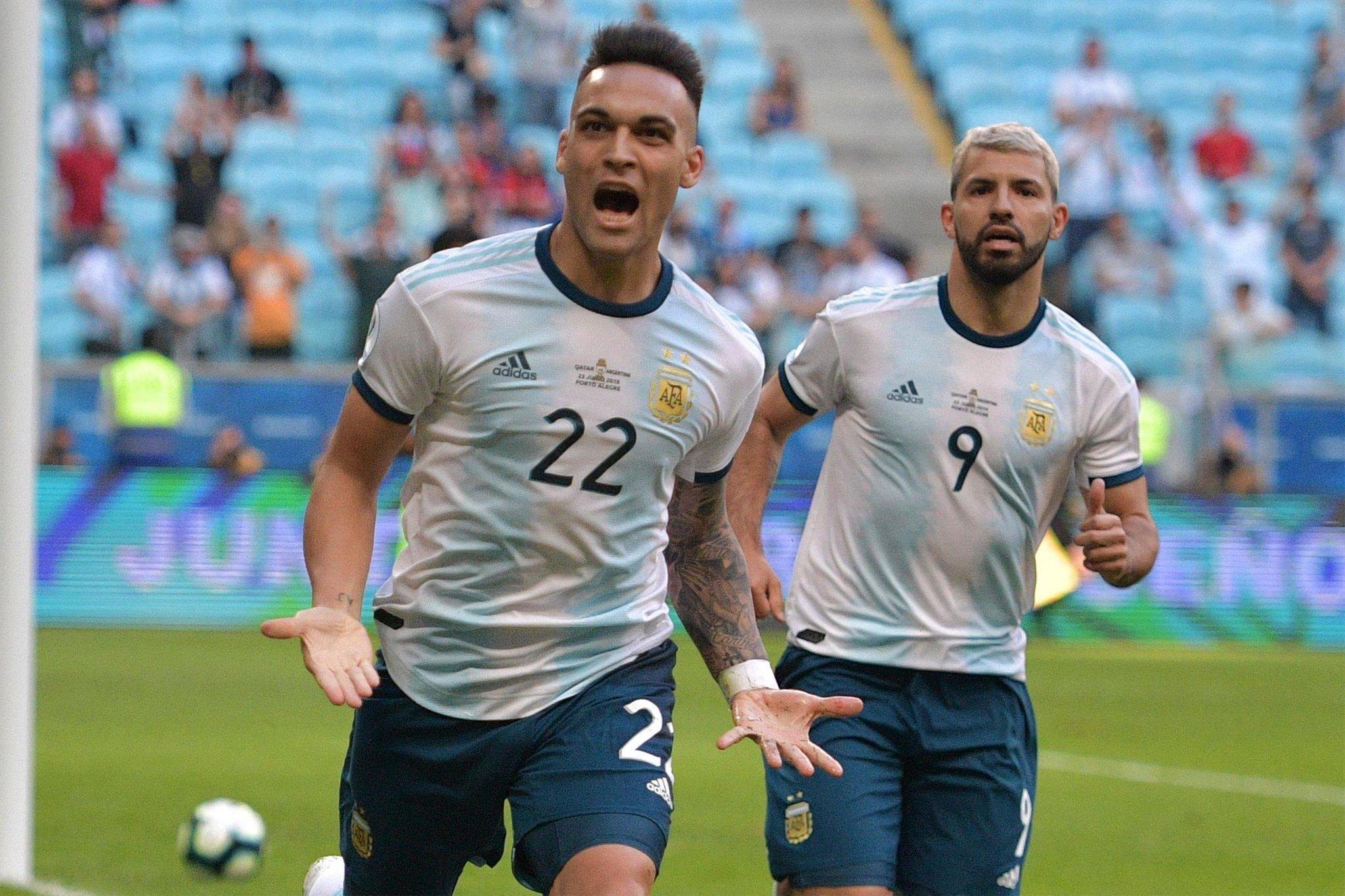 هدف الأرجنتين في مرمى فنزويلا