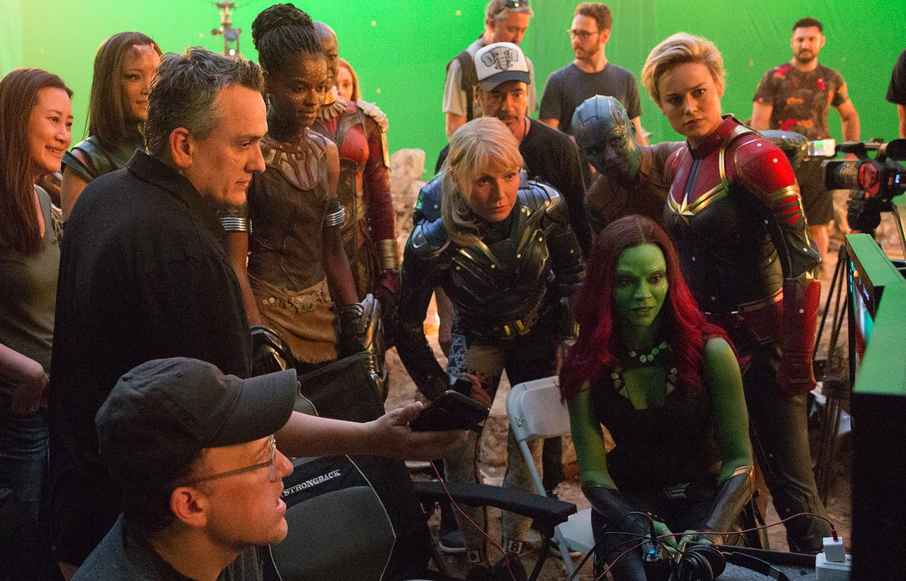 Avengers Endgame Behind The Scenes Photos Reveal That Captain