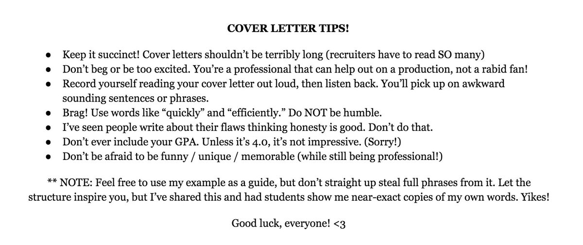 Internship Cover Letter Tips from pbs.twimg.com