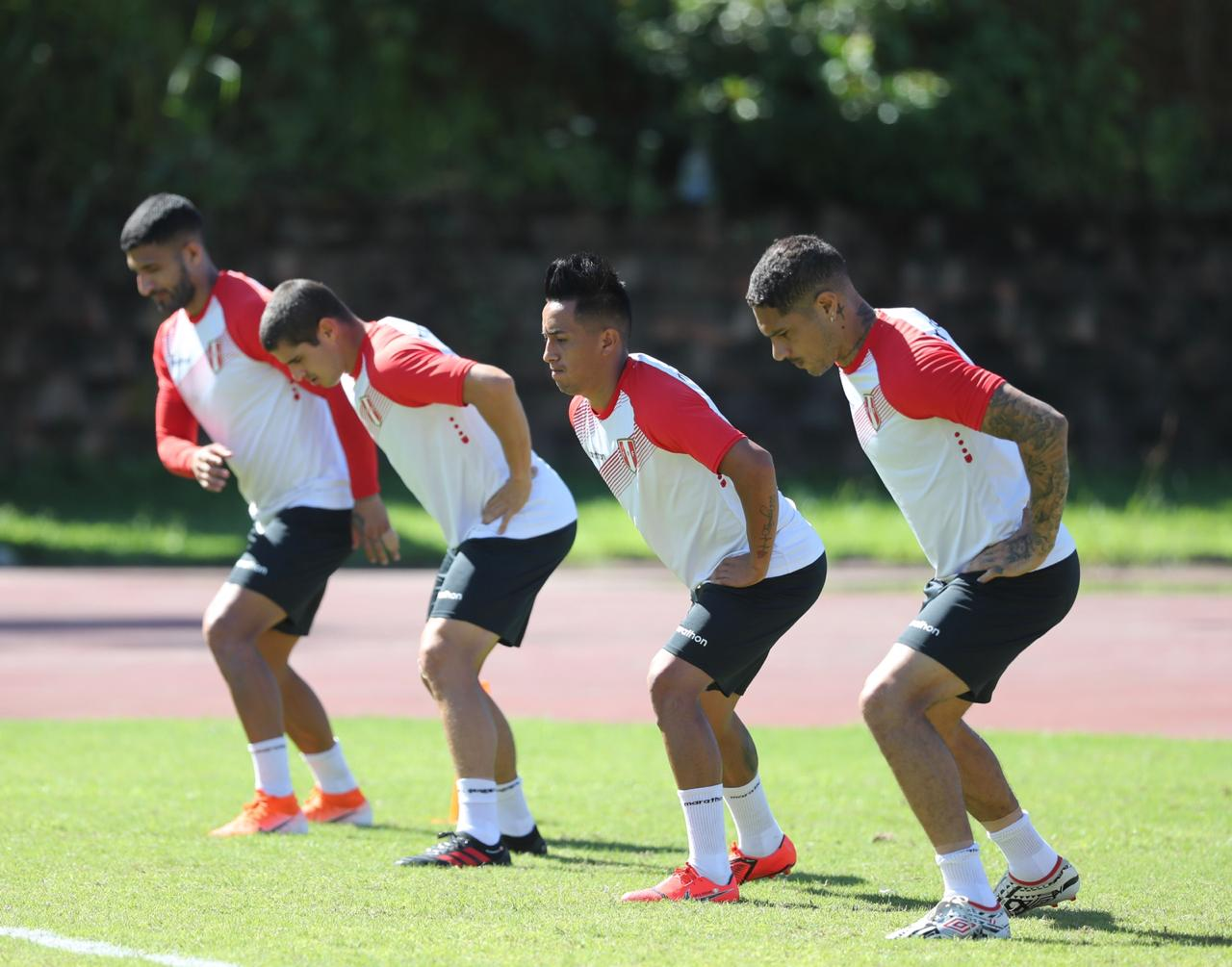 "Peru finished its training and was ""ready"" for the big match with Uruguay tomorrow"