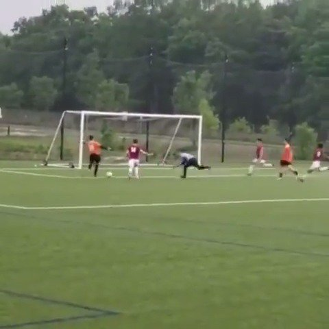 Just when you thought it was safe to tap into an empty net. #GKUnion