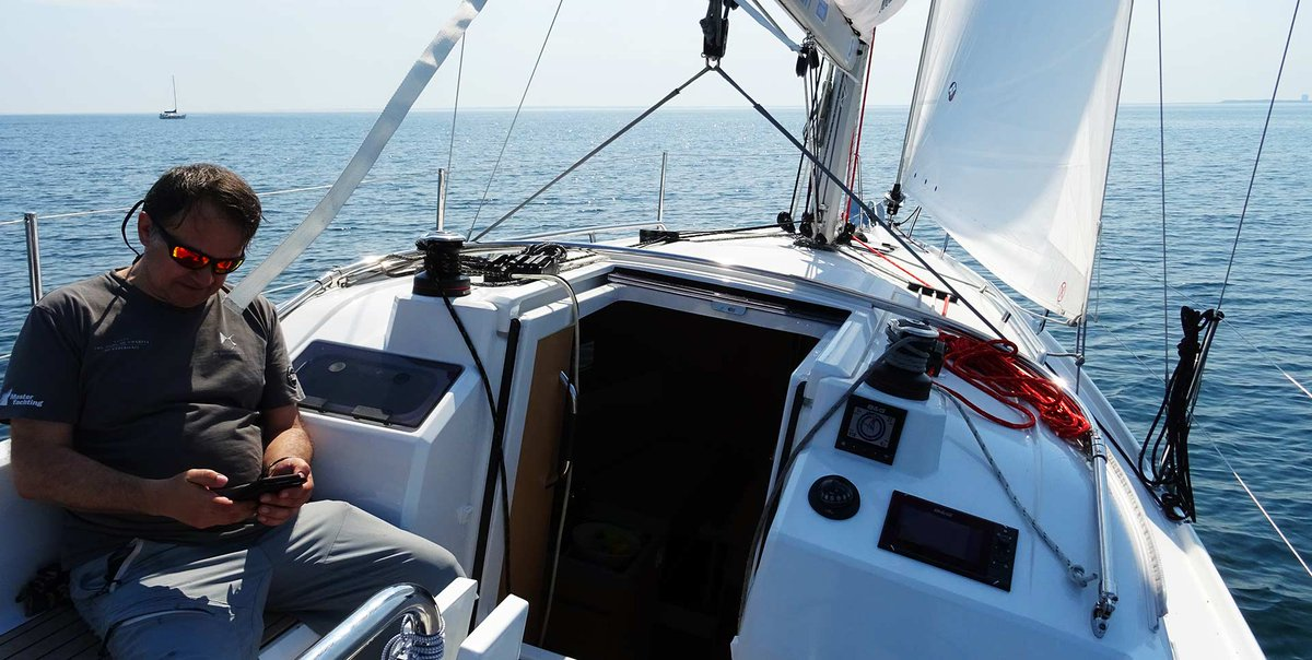 Sweden Sailing, Part 3 - first day offshore with the new BENETEAU Oceanis 30.1: http://no-frills-sailing.com/oceanis-30-1-yacht-sailing/ …  #sailingyacht #sailing #yacht #beneteau