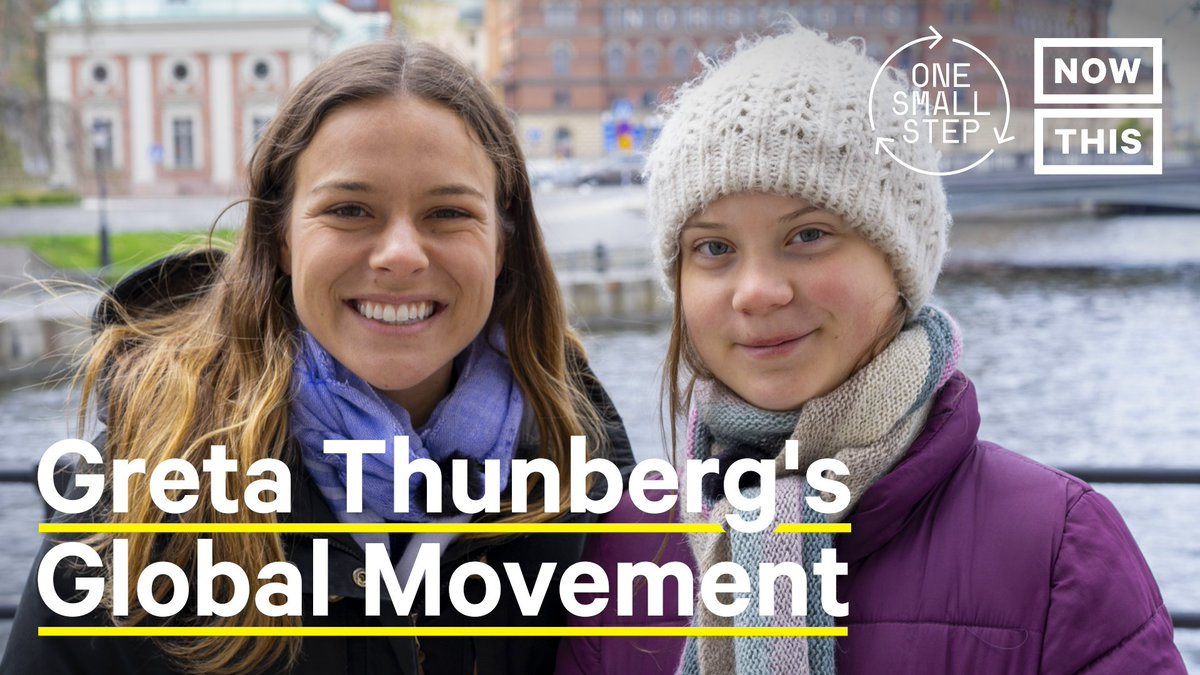 'Change is coming whether you like it or not.' —@GretaThunberg's simple act of skipping class to protest climate inaction became a global movement
