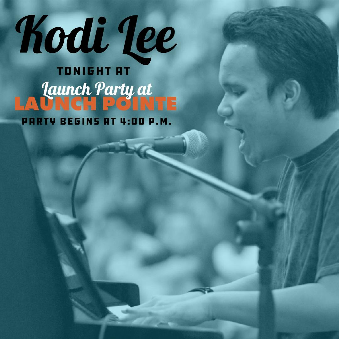 Have you heard?  #LakeElsinore's very own @Kodileerocks will be performing at tonight's Launch Party at #LaunchPointe during the Opening Ceremony. Party begins at 4PM; performance starts at 5PM  You won't want to miss this and so much more. See you there!   #DreamExtreme #KodiLee<br>http://pic.twitter.com/v6v0yOClXZ