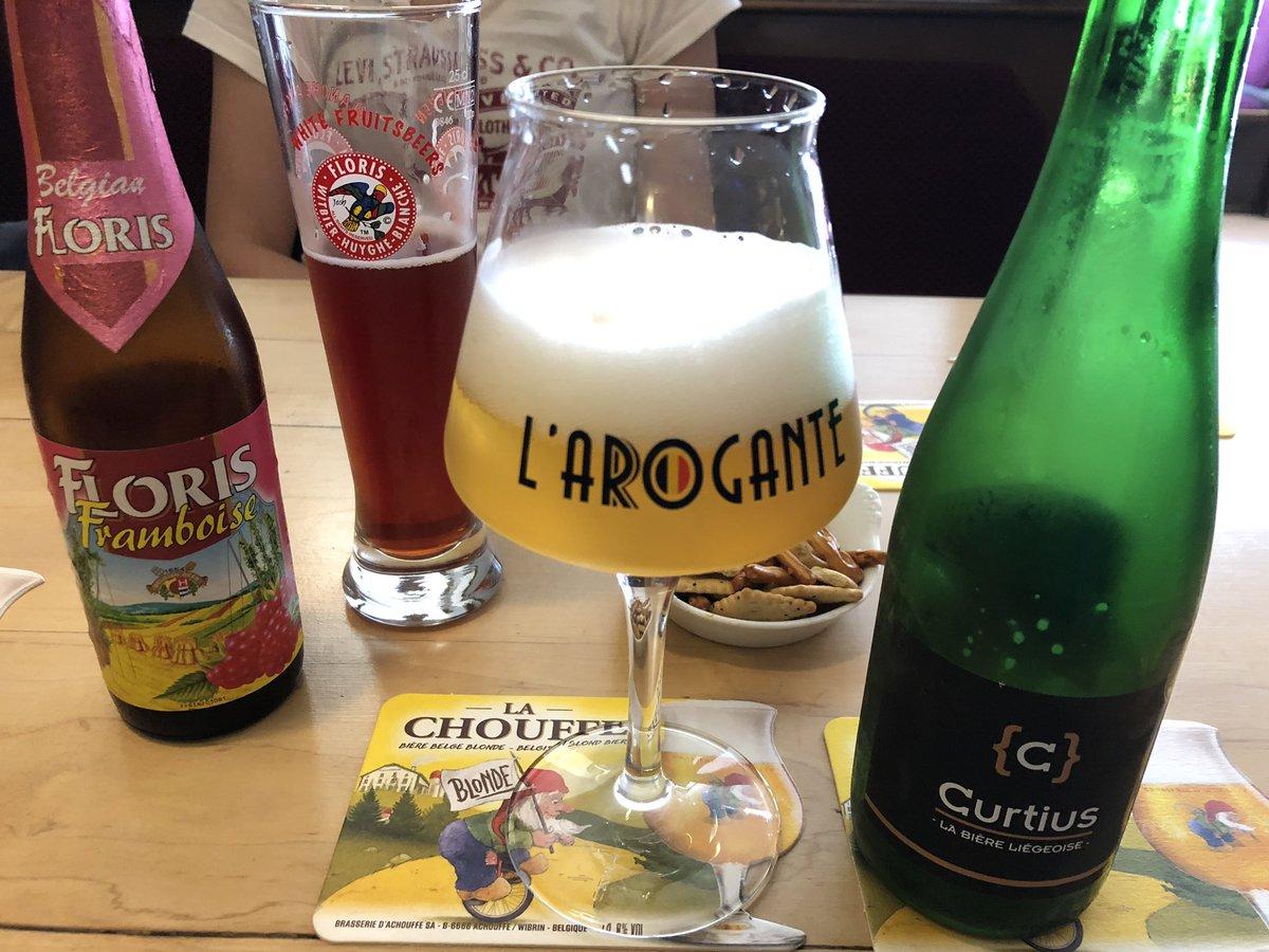 #Curtius @BrasserieC verbindet die #leichtigkeitdesseins mit #hämmernimkopf @LeVaudree2#bierliebe #bier #bierdestages #bierlaune #bierzeit #biertest #bierporn #bierlife #bierlust #bierpause #bierebelge #belgischesbier #belgiancraftbeer #biervielfalt #biergenuss #biertourismuspic.twitter.com/TCyjWKVj0A – at Vaudrée 02
