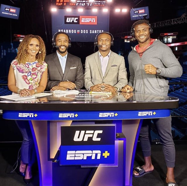 2nd UFC Pre-Show on @espn is in the books @espnmma