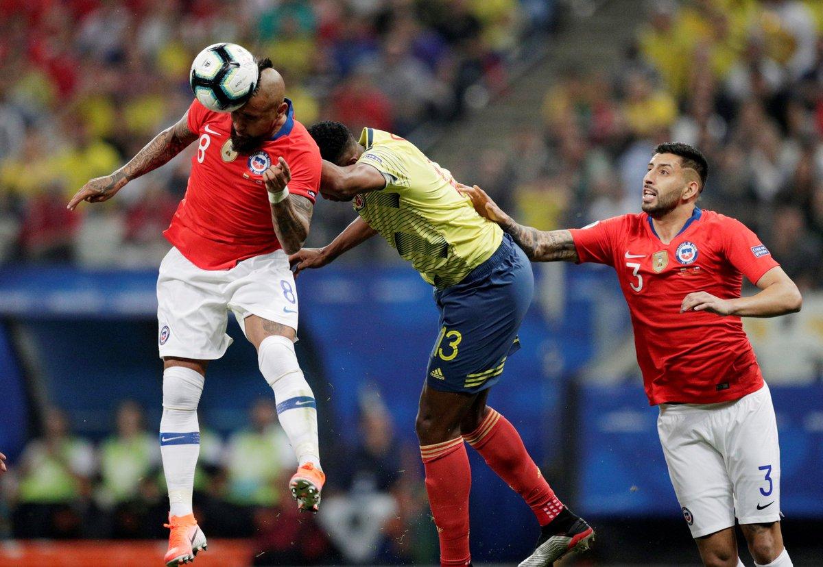Копа Америка. Колумбия - Чили 0:0 (пен. 4:5). Цена одного промаха или идеальные удары от Ла Рохи - изображение 1
