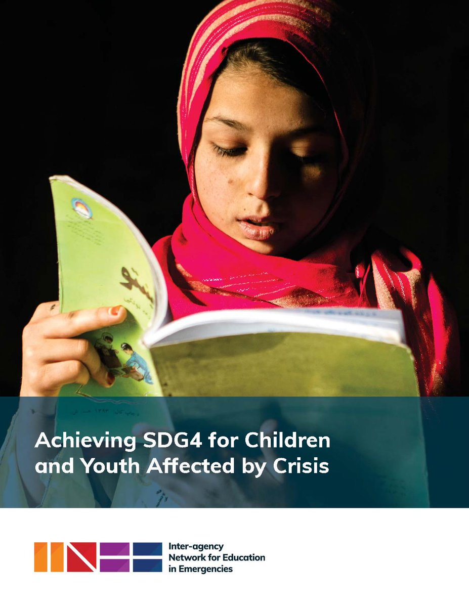 NEW PUBLICATION: INEE's Advocacy Working Group is pleased to present its new blog and brief on how to achieve #SDG4 for #children and #youth affected by #crisis. Learn more: http://bit.ly/2FExYWu
