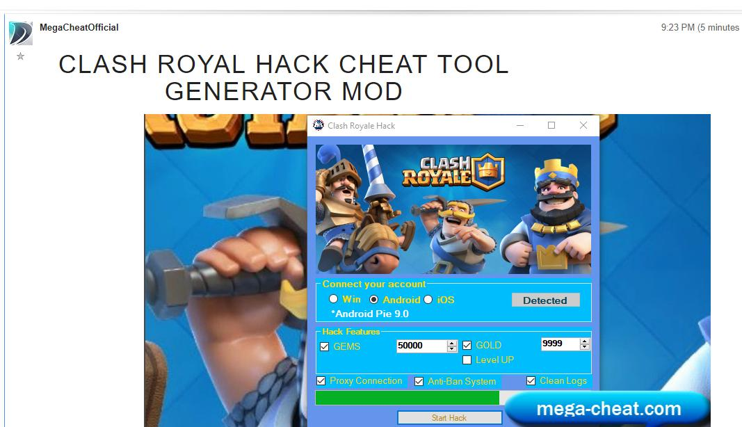 clashroyalehack hashtag on Twitter -