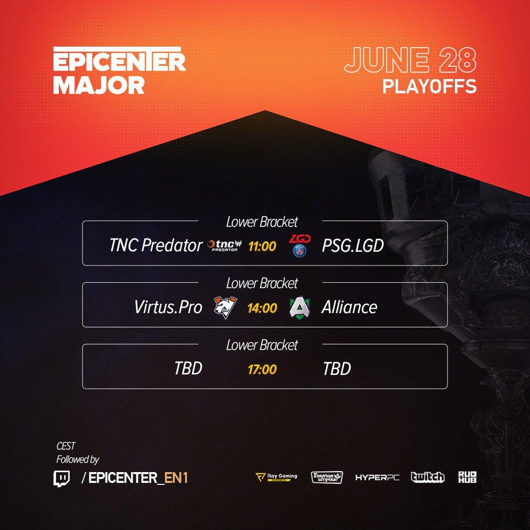 Jadwal EPICENTER Major 2019