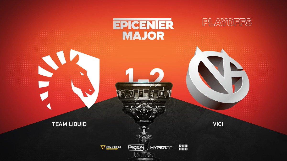 Team Liquid vs Vici Gaming EPICENTER Major 2019