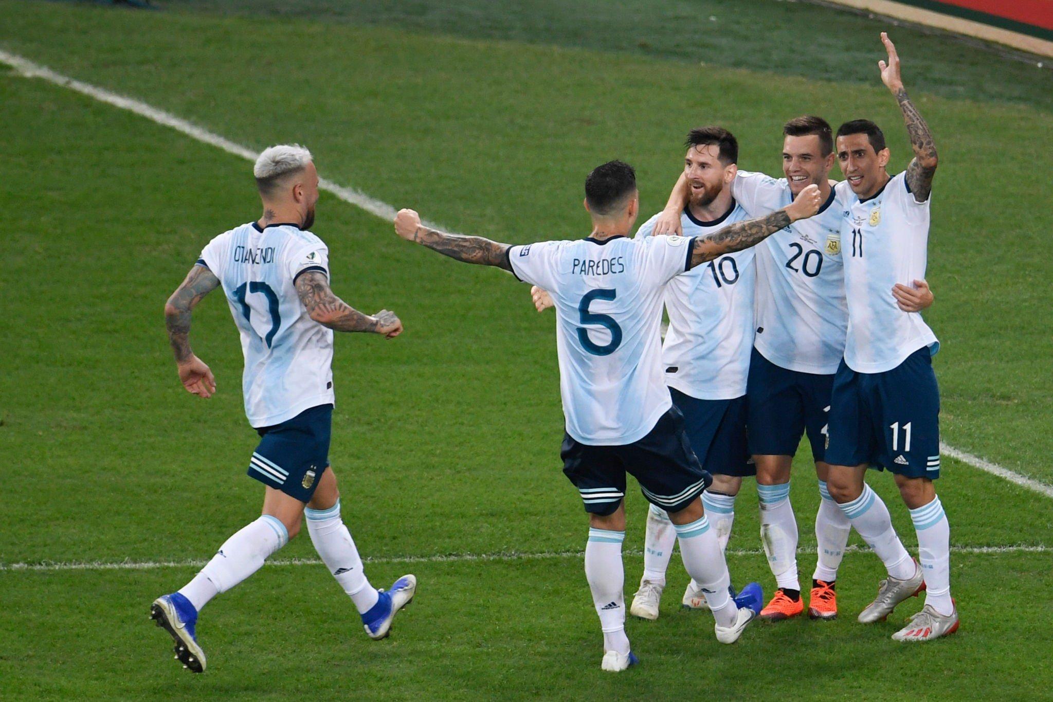 أهداف فوز الأرجنتين على فنزويلا وتأهلهم إلى نصف نهائي كوبا أمريكا