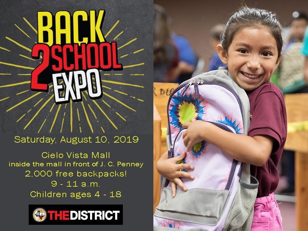 Join us at the Back 2 School Expo #THEDISTRICT