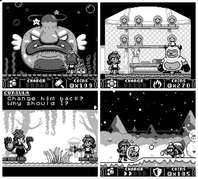 Game Boy Demakes در توییتر When Daisy And Luigi Crash Land