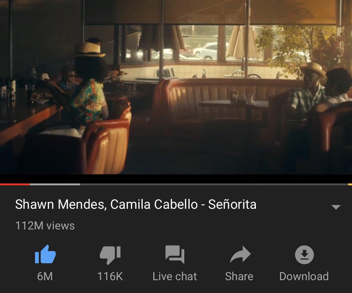 Camila Updater On Twitter Senorita Music Video Has Now