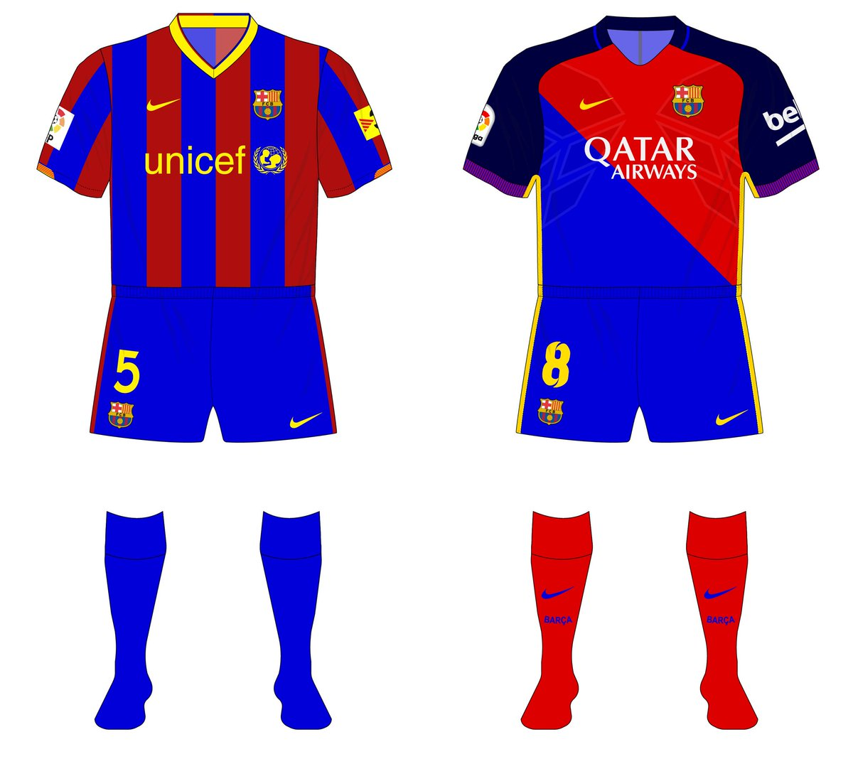 Museum Of Jerseys On Twitter Late Bump For Gellatley S Alternate History Barcelona Fantasykitfriday Requests Https T Co Bc5iyaejk7
